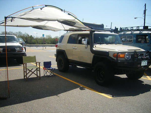 Kelty car awning